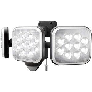 ライテックス LED センサーライト コンセント式 14W×3灯 フリーアーム式 LED-AC3042