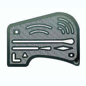 シンワ測定 字消板 ステンレス製 メッシュ 70961