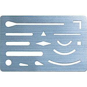 シンワ測定 字消板 ステンレス製 70963