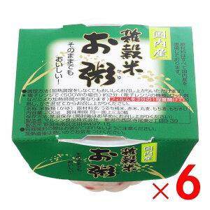 マルシン食品 雑穀米お粥 200g ×6個 セット販売