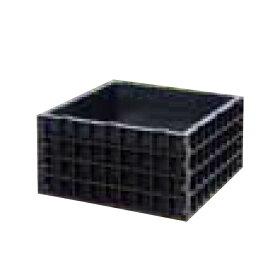 【法人限定】サンポリ 堆肥ワク角型 200L 790×790×400mm S-07 【メーカー直送・代引不可・配送地域限定】