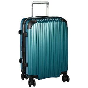 エスケープ スーツケース 機内持込可 拡張ジッパー 35-43L グリーン ESC2125-48 【メーカー直送・代引不可】