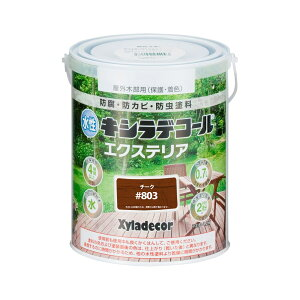 大阪ガスケミカル 水性キシラデコール エクステリアS 0.7L チーク