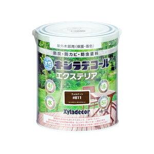大阪ガスケミカル 水性キシラデコール エクステリアS 1.6L ウォルナット