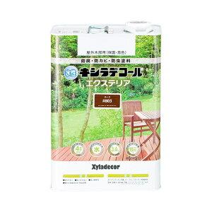 大阪ガスケミカル 水性キシラデコール エクステリアS 3.4L チーク