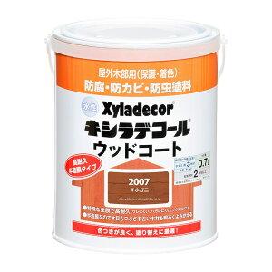 大阪ガスケミカル 水性キシラデコール ウッドコートS 0.7L マホガニ