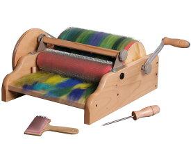 アシュフォード・ワイドドラムカーダー【紡ぎ車 紡ぎ 染め 羊毛 フェルト 糸 綿 ウール】
