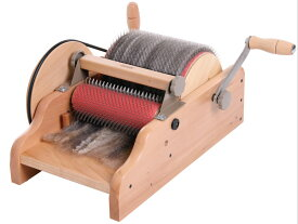 アシュフォード・ドラムカーダー【カード機 紡ぎ車 紡ぎ 染め 羊毛 フェルト 糸 綿 ウール】