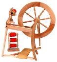 アシュフォード トラディショナル紡毛機-白木【紡ぎ車 紡ぎ 染め 羊毛 フェルト 糸 綿 ウール】