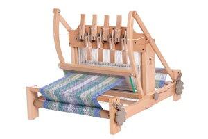 アシュフォード・テーブルルーム80cm8枚そうこう【卓上 手織り 織り機 織機 ヘドル 紡ぎ 染め 羊毛 フェルト ニードル 糸 綿 ウール】