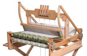 アシュフォード・テーブルルーム40cm4枚そうこう【卓上 手織り 織り機 織機 ヘドル 紡ぎ 染め 羊毛 フェルト ニードル 糸 綿 ウール】