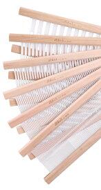 アシュフォード・リジッドヘドル筬そうこう40cm【卓上 手織り 織り機 織機 ヘドル 紡ぎ 染め 羊毛 フェルト ニードル 糸 綿 ウール】