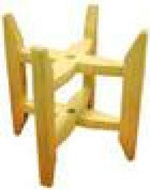 木枠Sサイズ【糸巻き 紡ぎ車 紡ぎ 染め 織り 羊毛 糸 綿 ウール 絹】