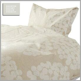 ☆☆☆☆☆QUARTER REPORT(クォーターリポート)Comforter Case【コンフォーターケース】Float (フロート) 色:アイボリーSサイズ 150×210【デザイン:岡理恵子】