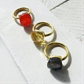 Mimi 天然石リング 指輪 シルバーリング インドジュエリー カジュアルリング ヌードリング シンプル ナチュラル ギフト プレゼント インドジュエリー