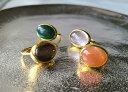 Bonbon 天然石 リング 指輪 インドジュエリー カジュアルリング パワーストーン 誕生日 大人かわいい 一粒リング 天然…