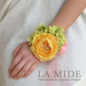 リストレット-フック式 ・ウェディングアイテム・ブライダル・結婚式【造花/アーティフィシャルフラワー】