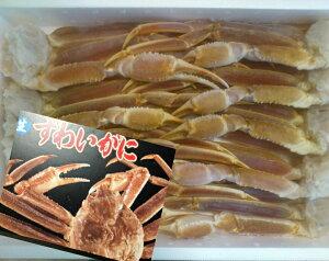メガ盛ズワイ蟹足×5.0kg 3L、4Lサイズに カニ 蟹 ずわい ズワイ 5キロ 5kg【送料無料】【業務用】【同梱不可】