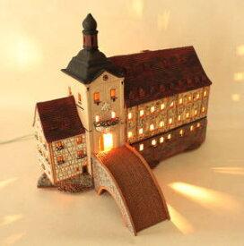 ランプハウス インテリアランプ 卓上ランプ リトアニア製 ミニチュアハウス mif233arset