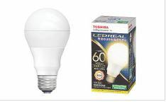 東芝 LDA8L-G/60W 電球色  単品E26口金 LED電球 全方向タイプ配光角260度一般電球60W形相当[LDA8LG60W]