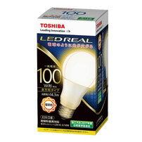 東芝 LDA14L-G/100W LEDREAL LED電球 全方向タイプ 配光角230度100W形相当 電球色 E26口金[LDA14LG100W]