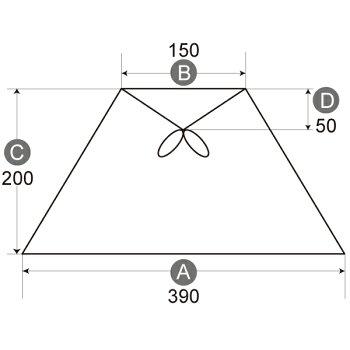【K-39150】キャッチ式シェード電気スタンドの傘交換用手作りランプシェード/照明/かさ/ライト/LED対応/インテリア/オーダーメイド/おしゃれ