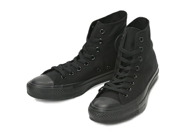 ≪20% OFF SALE≫CONVERSE コンバースCANVAS ALL STAR HI キャンバス オールスター HI(ブラックモノクローム)☆靴 シューズ スニーカー☆セール品につき返品・交換・キャンセル不可