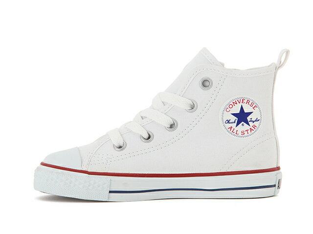 CONVERSE コンバース スニーカーFIRST STAR CHILD ALL STAR N Z HI チャイルド オールスター N Z HI(オプティカルホワイト) キッズ 子供 男の子 女の子 シューズ 靴