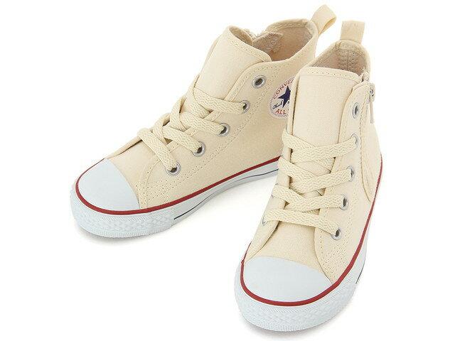 CONVERSE コンバース スニーカーCHILD ALL STAR N Z HIチャイルド オールスター N Z HI/ハイカット(ホワイト)キッズ 子供 男の子 女の子 シューズ 靴