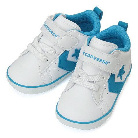 CONVERSE コンバースFIRST STAR MINI P-L N ミニ P-L N(ホワイトブルー)キッズ シューズ 靴