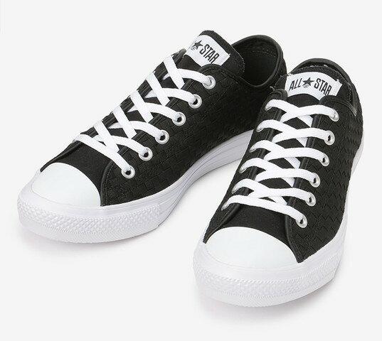 ≪10% OFF SALE≫CONVERSE コンバースALL STAR LIGHT WOVEN OX オールスター ライト ウーブン OX(ブラック)レディース シューズ 靴セール品につき返品・交換・キャンセル不可