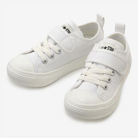 CONVERSE コンバースCHILD ALL STAR LIGHT V-1 OX チャイルド オールスター ライト V-1 OX(ホワイト)キッズ シューズ 靴