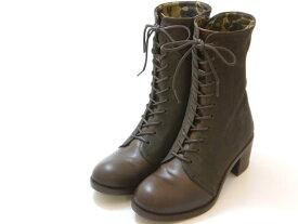 ≪30% OFF SALE≫FLY LONDON フライロンドンZEKO レースアップ ショートブーツ(ダークブラウン)レディース シューズ 靴セール品につき返品・交換・キャンセル不可