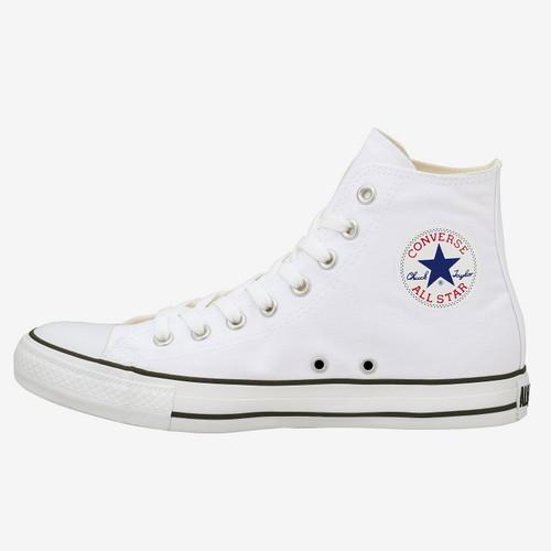 CONVERSE コンバースCANVAS ALL STAR COLORS HI キャンバス オールスター カラーズ HI(ホワイト/ブラック)レディース シューズ 靴