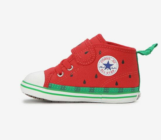 CONVERSE コンバースBABY ALL STAR N FRUITS V-1 ベビー オールスター N フルーツ V-1(レッド)ベビー キッズ シューズ 靴