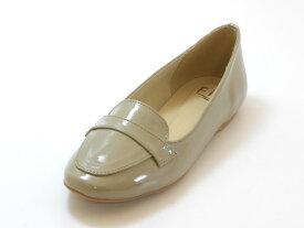 ≪20% OFF SALE≫Fin フィン【低反発スポンジ入り】ラウンドトゥ コインローファー(ベージュ)レディース シューズ 靴セール品につき返品・交換・キャンセル不可