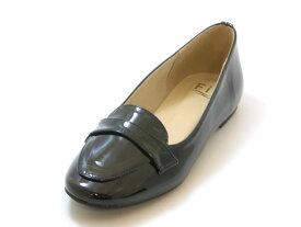 ≪20% OFF SALE≫Fin フィン【低反発スポンジ入り】ラウンドトゥ コインローファー(ブラック)レディース シューズ 靴セール品につき返品・交換・キャンセル不可