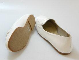 ≪20% OFF SALE≫Fin フィン【低反発スポンジ入り】ラウンドトゥ コインローファー(アイボリー)レディース シューズ 靴セール品につき返品・交換・キャンセル不可