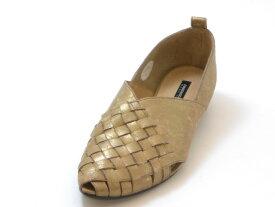RABOKIGOSHI works ラボキゴシ ワークス甲深 メッシュパンプス(ブロンズ)レディース シューズ 靴