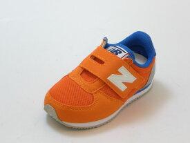 ≪10% OFF SALE≫new balance ニューバランスIV220 ORB(オレンジ)ベビー キッズ シューズ 靴セール品につき返品・交換・キャンセル不可