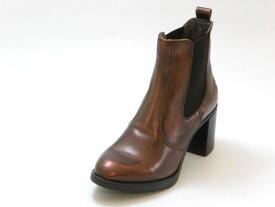 FLY LONDON フライロンドンSEHO サイドゴア ヒールブーツ(コッパ—)レディース シューズ 靴セール品につき返品・交換・キャンセル不可