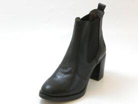 FLY LONDON フライロンドンSEHO サイドゴア ヒールブーツ(ブラック)レディース シューズ 靴