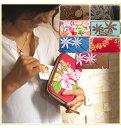 【送料無料】ハワイ+日本の職人さん 財布 ハワイアン ハワイ 長財布 本革 レザー ウォレット レディース 男女兼…