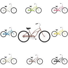 自転車 ELECTRA CRUISER-1-LADY エレクトラ ビーチクルーザー 26インチ レインボー おしゃれ 通勤 通学 メンズ レディース