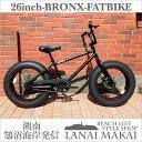 "【MODEL】""BRONX 20nch FAT-BIKES""""湘南鵠沼海岸発信""20inchファットバイク《RAINBOW BRONX 20inchFAT-BI..."