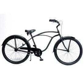 自転車 RAINBOW PCH101 26BC DARTH-VADER レインボー ビーチクルーザー 26インチ おしゃれ 通勤 通学 メンズ レディース