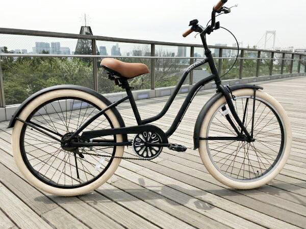 ビーチクルーザー 24インチ おしゃれ 自転車 レディース ジュニア 小学生 レインボー Feelling of decks FOD-24