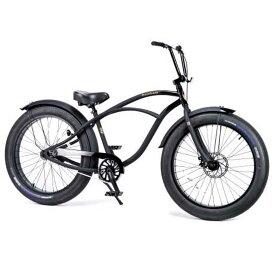 レインボー ビーチクルーザー ファットバイク 26インチ おしゃれ 自転車 通勤 通学 メンズ レディース GREASE-3.5-1sp ダースベーダー