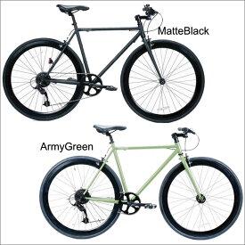 自転車 T-STREET 700C-8D STREET-WISE-RADICALS 8段変速付 ピスト クロスバイク ロードバイク おしゃれ 通勤 通学 メンズ レディース