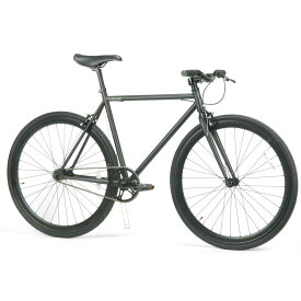 レインボー T-STREET ピスト クロスバイク ロードバイク 自転車 おしゃれ 通勤 通学 メンズ レディース T-STREET 700C マットブラック